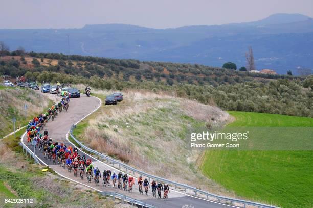 63rd Ruta del Sol 2017 / Stage 5 Landscape / Peloton / Setenil de las Bodegas Coin / Vuelta a Andalucia /
