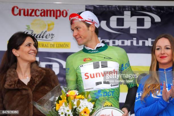 63rd Ruta del Sol 2017 / Stage 5 Podium / Georg PREIDLER Green Mountain Jersey / Celebration / Setenil de las Bodegas Coin / Vuelta a Andalucia /