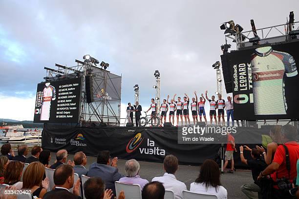 68th Tour of Spain 2013 / Team Presentation Team Radioshack Leopard Trek / Illustration Illustratie / Presentation Equipes Ploegenpresentatie /...