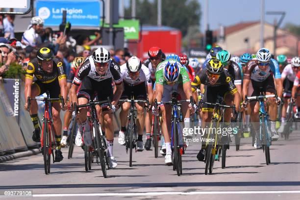 69th Criterium du Dauphine 2017 / Stage 5 Arrival Sprint / Phil BAUHAUS / Arnaud DEMARE Green Points Jersey / Bryan COQUARD / Oliver NAESEN / La...