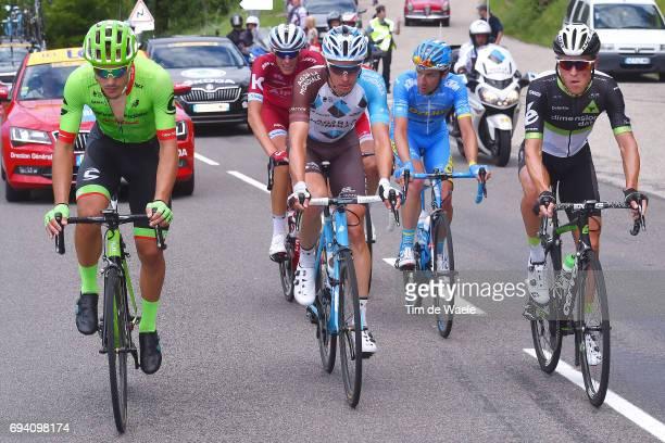 69th Criterium du Dauphine 2017 / Stage 6 Alberto BETTIOL / Oliver NAESEN / Serge PAUWELS / Thierry HUPOND / Nils POLITT / Parc des Oiseaux...