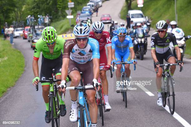 69th Criterium du Dauphine 2017 / Stage 6 Oliver NAESEN / Alberto BETTIOL / Nils POLITT / Serge PAUWELS / Thierry HUPOND / Parc des Oiseaux...