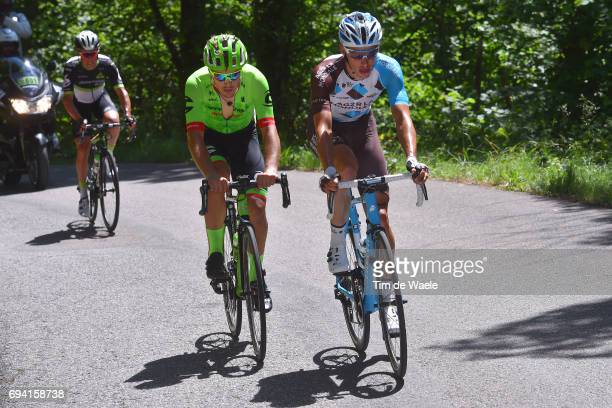 69th Criterium du Dauphine 2017 / Stage 6 Oliver NAESEN / Alberto BETTIOL / Parc des Oiseaux VillarslesDombes La MotteServolex /