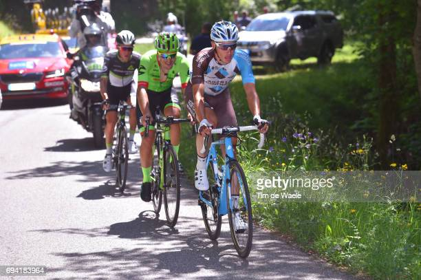 69th Criterium du Dauphine 2017 / Stage 6 Oliver NAESEN / Alberto BETTIOL / Serge PAUWELS / Parc des Oiseaux VillarslesDombes La MotteServolex /