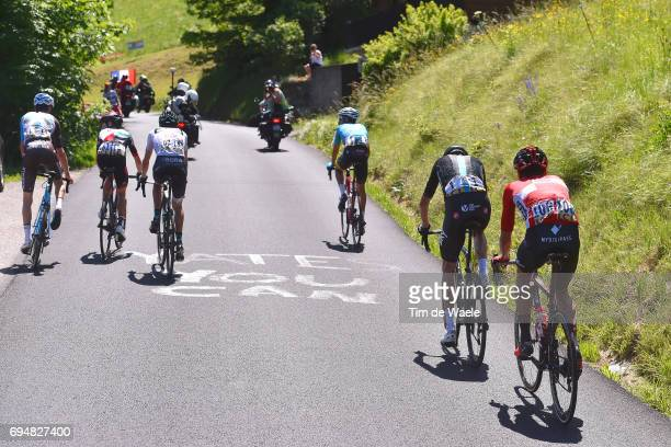 69th Criterium du Dauphine 2017 / Stage 8 Christopher FROOME / Rafael VALLS / Emanuel BUCHMANN White Best Young Rider Jersey / Romain BARDET / Louis...