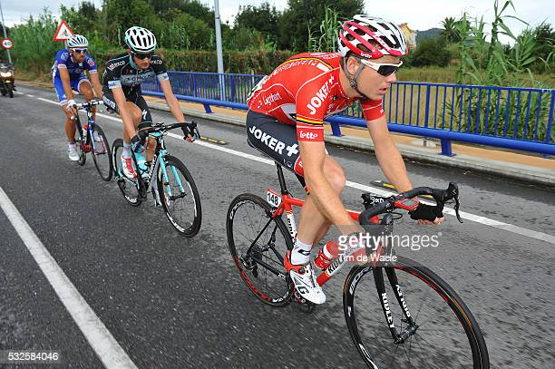 69th Tour of Spain 2014 / Stage 19 LIGTHART Pim / POELS Wout / MANGEL Laurent / Salvaterra Do Mino Cangas Do Morrazo / Vuelta Tour d'Espagne Ronde...