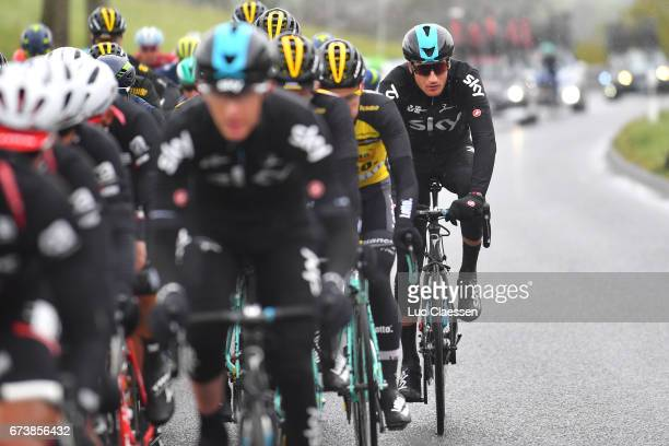 71st Tour de Romandie 2017 / Stage 2 Gianni MOSCON / Champery BulleRiaz 724m / Stage shortened due bad weather /