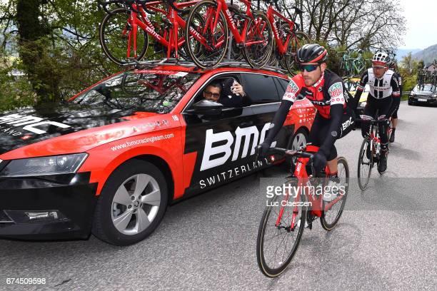 71st Tour de Romandie 2017 / Stage 3 Danilo WYSS / Fabio BALDATO Sportsdirector / Team BMC / Payerne Payerne /
