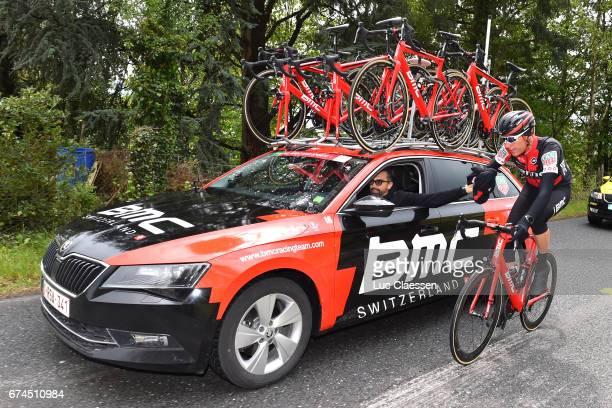 71st Tour de Romandie 2017 / Stage 3 Michael SCHAR / Fabio BALDATO Sportsdirector / Team BMC / Payerne Payerne /