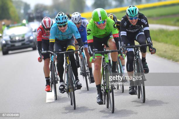 71st Tour de Romandie 2017 / Stage 3 Victor CAMPENAERTS / Davide MARTINELLI / Nikita STALNOV / SKUJI / Lukas POSTLBERGER / Thomas DE GENDT / Payerne...