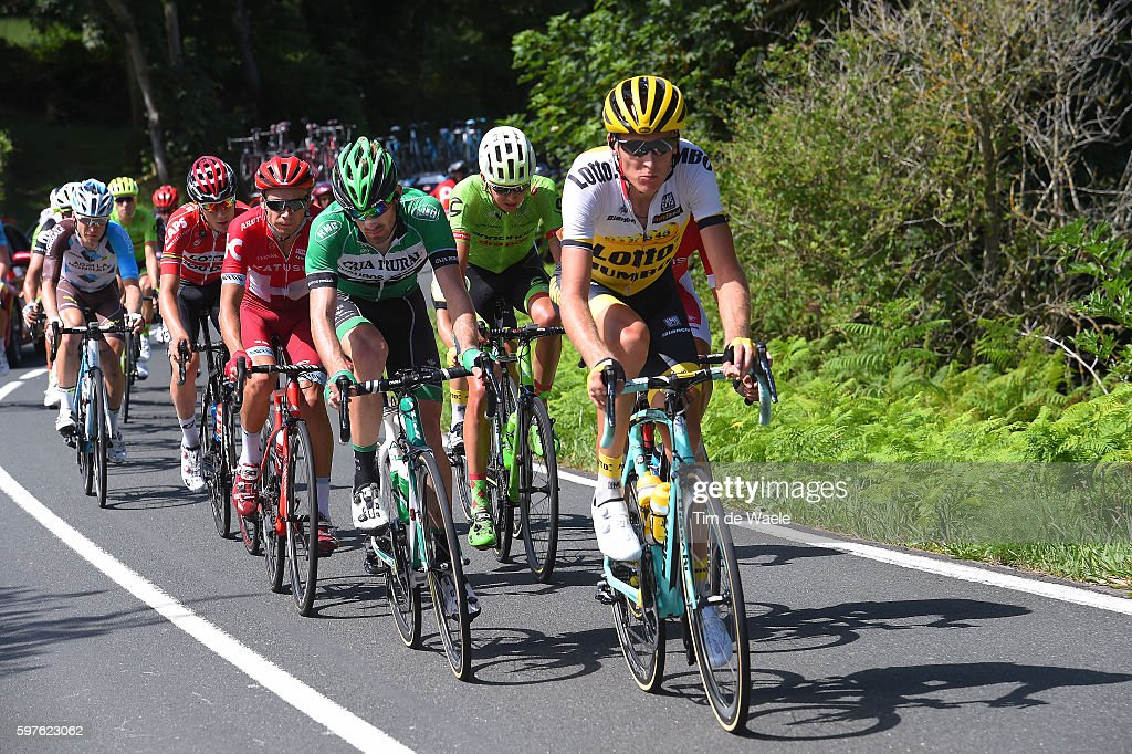 71st Tour of Spain 2016 / Stage 10 Robert GESINK / Jose GONCALVES / Egor SILIN / Joe DOMBROWSKI / Jan BAKELANTS / Lugones Lagos de Covadonga 1110m /...