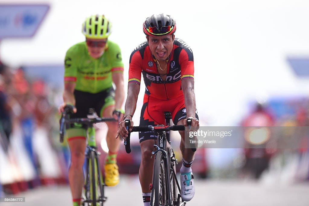 71st Tour of Spain 2016 / Stage 4 Arrival / John Darwin ATAPUMA / Benjamin KING / Betanzos San Andres de Teixido 600m / La Vuelta /