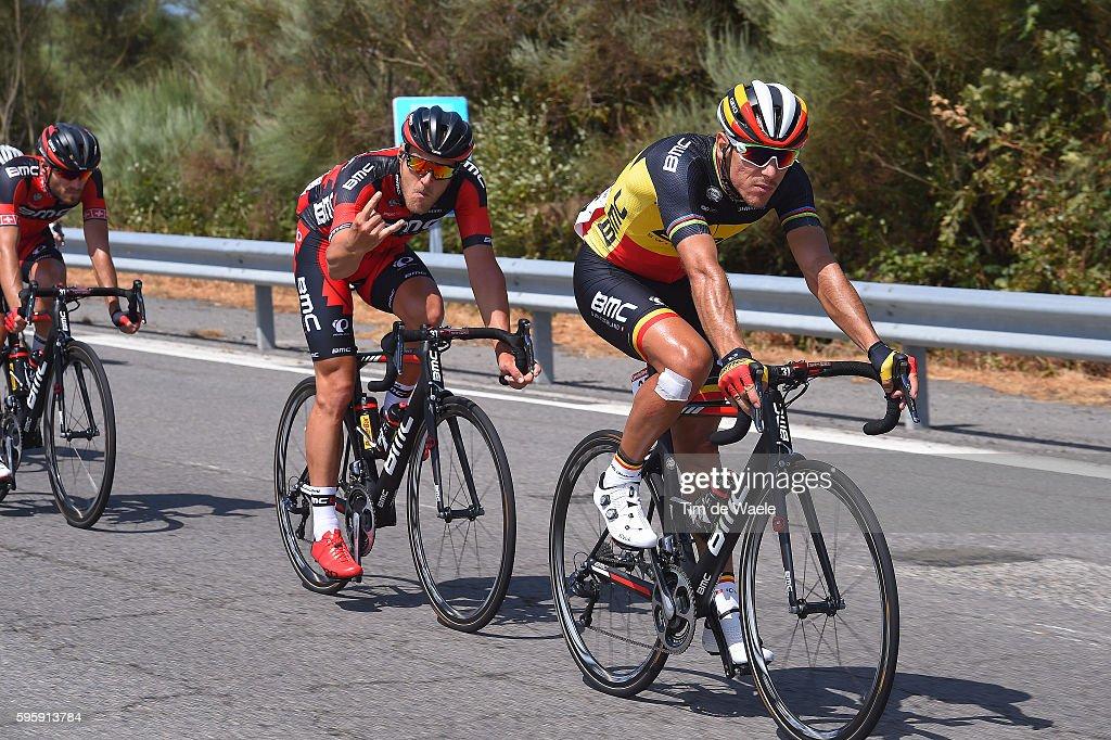 71st Tour of Spain 2016 / Stage 7 Philippe GILBERT / JeanPierre DRUCKER / Maceda Puebla de Sanabria / La Vuelta /