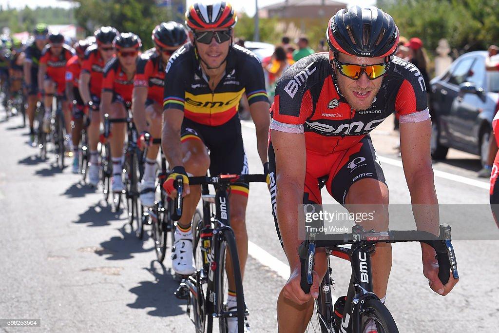 71st Tour of Spain 2016 / Stage 8 JeanPierre DRUCKER / Philippe GILBERT / BMC RACING TEAM / Villalpando La Camperona Valle de Sabero 1600m / La...