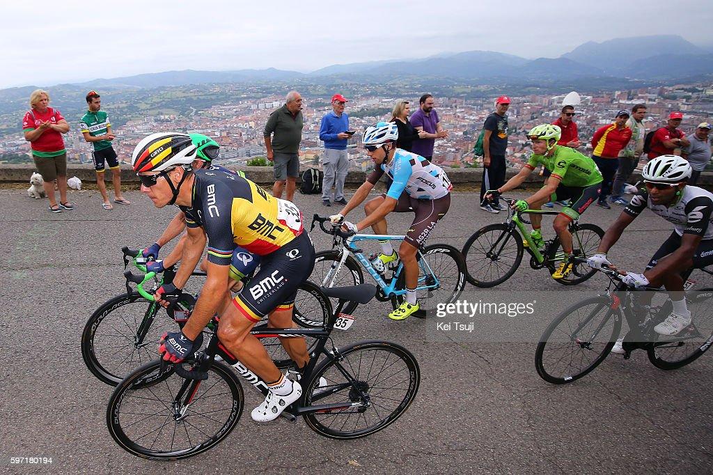 71st Tour of Spain 2016 / Stage 9 Philippe GILBERT / Axel DOMONT / Cistierna Oviedo Alto del Naranco 585m / La Vuelta /