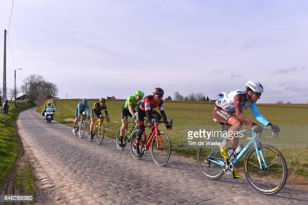 72nd Omloop Het Nieuwsblad 2017 / Men Alexis GOUGEARD / Greg VAN AVERMAET / Sep VANMARCKE / Gent Gent / Men / Flanders Classics /