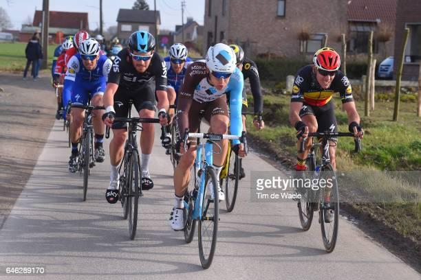 72nd Omloop Het Nieuwsblad 2017 / Men Philippe GILBERT / Oliver NAESEN / Luke ROWE / Gent Gent / Men / Flanders Classics /