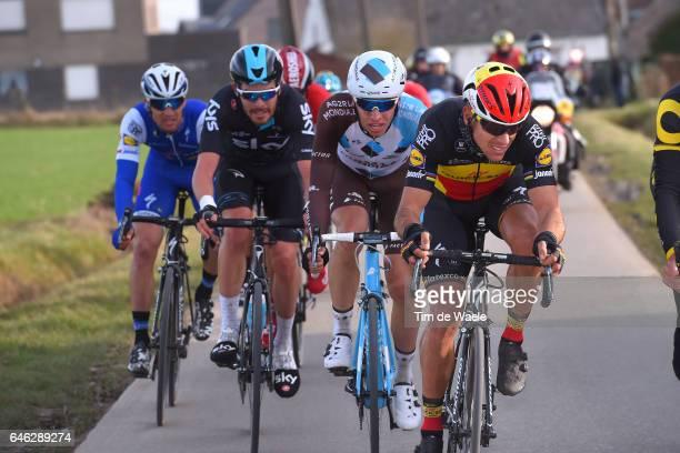 72nd Omloop Het Nieuwsblad 2017 / Men Philippe GILBERT / Oliver NAESEN / Gent Gent / Men / Flanders Classics /