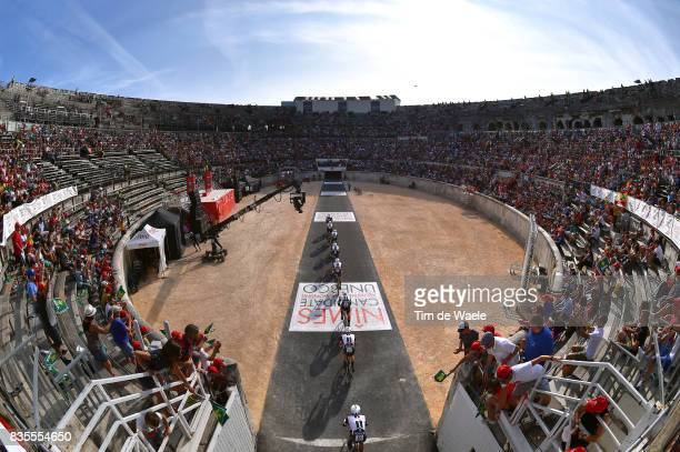 72nd Tour of Spain 2017 / Stage 1 Team Sunweb / Wilco KELDERMAN / Warren BARGUIL / Johannes FROHLINGER / Chad HAGA / Chris HAMILTON / Chris HAMILTON...