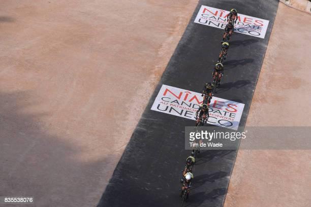 72nd Tour of Spain 2017 / Stage 1 Team Team LottoNLJumbo / Steven KRUIJSWIJK / George BENNETT / Antwan TOLHOEK / Koen BOUWMAN / Stef CLEMENT / Floris...
