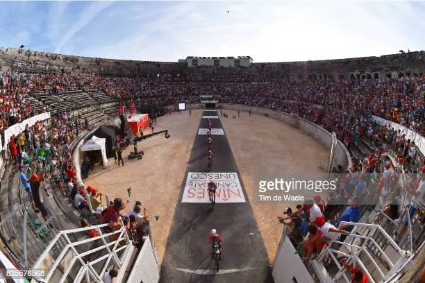 72nd Tour of Spain 2017 / Stage 1 Team Trek Segafredo / Alberto CONTADOR / Edward THEUNS / Markel IRIZAR / Julien BERNARD / HERNANDEZ Jesus /...