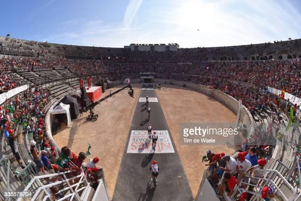 72nd Tour of Spain 2017 / Stage 1 UAE Team Emirates / Rui FARIA DA COSTA / John Darwin ATAPUMA / Anass AIT EL ABDIA / Louis MEINTJES / Sacha MODOLO /...