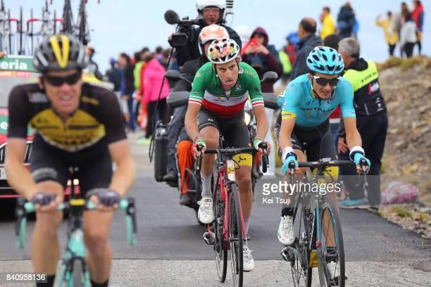 72nd Tour of Spain 2017 / Stage 11 Fabio ARU / Pello BILBAO / Steven KRUIJSWIJK / Lorca Observatorio Astronomico de Calar Alto 2120m / La Vuelta /