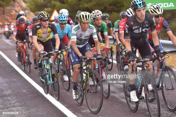 72nd Tour of Spain 2017 / Stage 11 Johan Esteban CHAVES White Combined Jersey / Mikel NIEVE ITURALDE / Fabio ARU / Steven KRUIJSWIJK / Lorca...