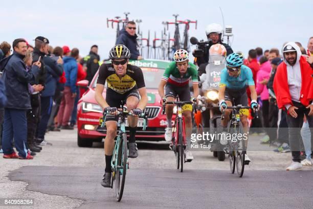 72nd Tour of Spain 2017 / Stage 11 Steven KRUIJSWIJK / Fabio ARU / Pello BILBAO / Lorca Observatorio Astronomico de Calar Alto 2120m / La Vuelta /
