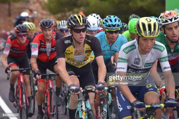 72nd Tour of Spain 2017 / Stage 11 Steven KRUIJSWIJK / Johan Esteban CHAVES White Combined Jersey / / Lorca Observatorio Astronomico de Calar Alto...