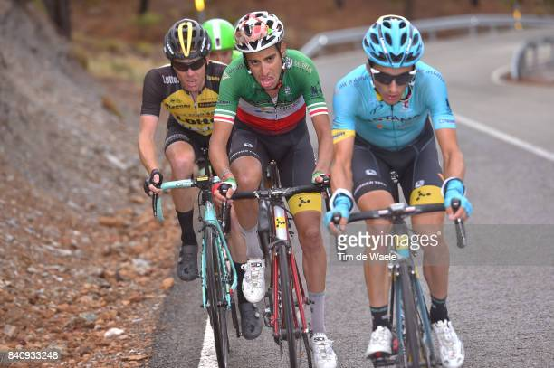 72nd Tour of Spain 2017 / Stage 11 Fabio ARU / Steven KRUIJSWIJK / Lorca Observatorio Astronomico de Calar Alto 2120m / La Vuelta /