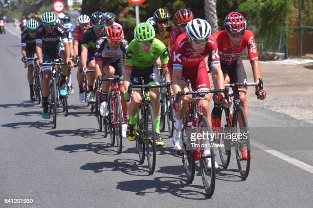 72nd Tour of Spain 2017 / Stage 12 Michael MORKOV / Tomasz MARCZYNSKI / Brendan CANTY / Jan POLANC / Motril Antequera Los Dolmenes 485m / La Vuelta /
