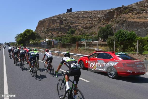 72nd Tour of Spain 2017 / Stage 12 Pawel POLJANSKI / Andreas SCHILLINGER / Edward THEUNS / Jose Joaquin ROJAS / Julien DUVAL / Brendan CANTY /...
