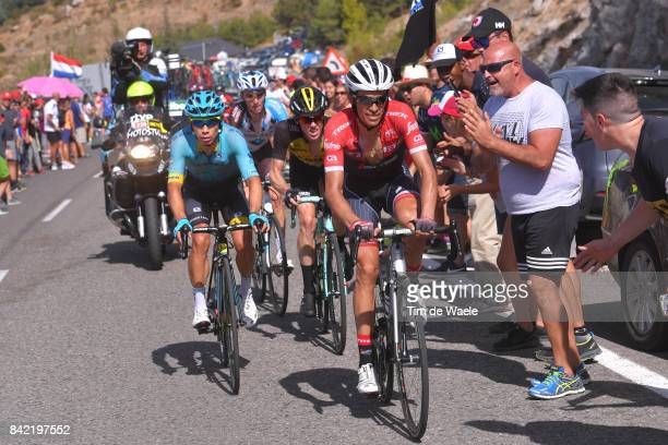 72nd Tour of Spain 2017 / Stage 15 Alberto CONTADOR / Miguel Angel LOPEZ / Steven KRUIJSWIJK / Romain BARDET / Alcala la Real Sierra Nevada Alto Hoya...