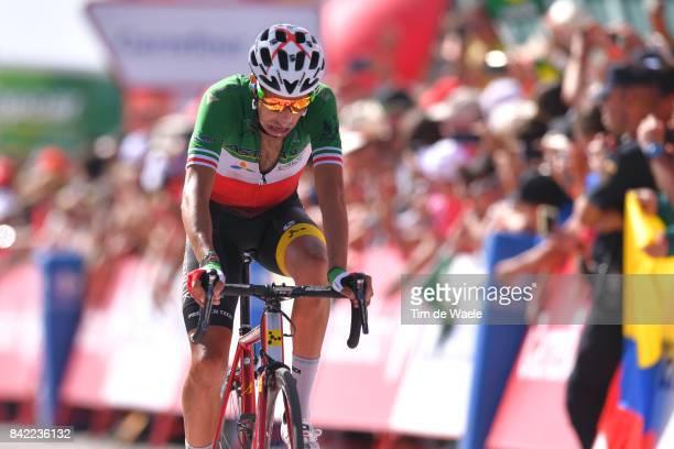 72nd Tour of Spain 2017 / Stage 15 Arrival / Fabio ARU / Alcala la Real Sierra Nevada Alto Hoya de la Mora Monachil 2510m / La Vuelta /