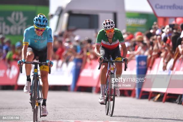 72nd Tour of Spain 2017 / Stage 15 Arrival / Fabio ARU / Pello BILBAO / Alcala la Real Sierra Nevada Alto Hoya de la Mora Monachil 2510m / La Vuelta /