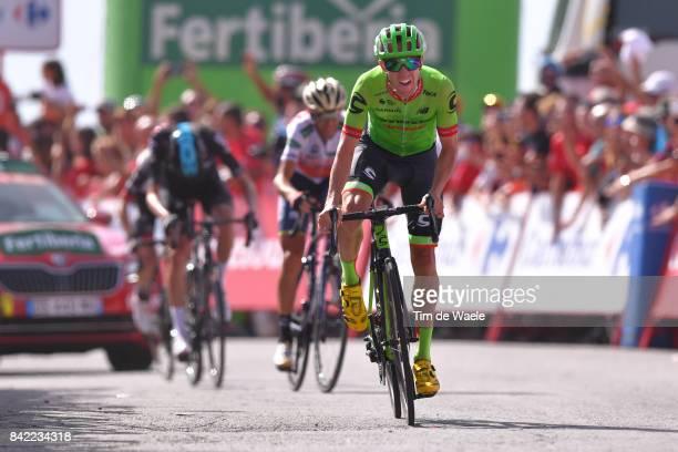 72nd Tour of Spain 2017 / Stage 15 Arrival / Michael WOODS / Alcala la Real Sierra Nevada Alto Hoya de la Mora Monachil 2510m / La Vuelta /