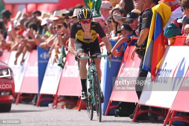 72nd Tour of Spain 2017 / Stage 15 Arrival / Steven KRUIJSWIJK / Alcala la Real Sierra Nevada Alto Hoya de la Mora Monachil 2510m / La Vuelta /