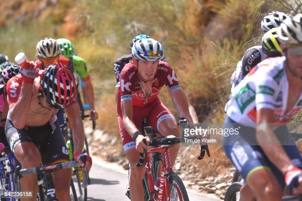 72nd Tour of Spain 2017 / Stage 15 Ilnur ZAKARIN / Thomas DE GENDT / Alcala la Real Sierra Nevada Alto Hoya de la Mora Monachil 2510m / La Vuelta /