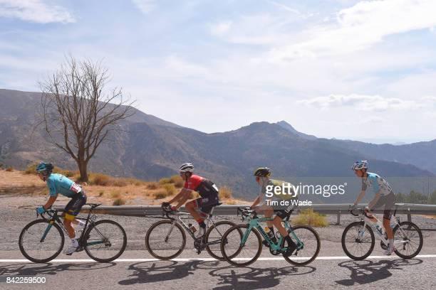 72nd Tour of Spain 2017 / Stage 15 Miguel Angel LOPEZ / Alberto CONTADOR / Steven KRUIJSWIJK / Romain BARDET / Alcala la Real Sierra Nevada Alto Hoya...