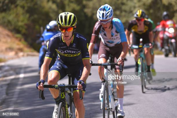 72nd Tour of Spain 2017 / Stage 15 Adam YATES / Romain BARDET / Steven KRUIJSWIJK / Alcala la Real Sierra Nevada Alto Hoya de la Mora Monachil 2510m...