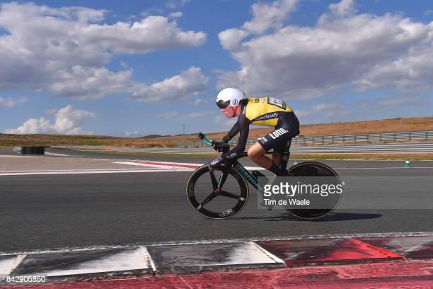 72nd Tour of Spain 2017 / Stage 16 Steven KRUIJSWIJK / Circuito de Navarra Logrono / Individual Time Trial / ITT / La Vuelta /