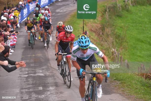72nd Tour of Spain 2017 / Stage 17 Alberto CONTADOR / Miguel Angel LOPEZ White Combined Jersey / Steven KRUIJSWIJK / Fans / Public / Villadiego Los...