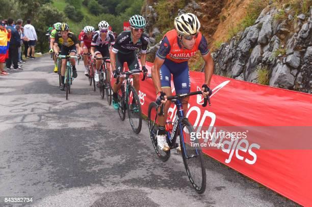 72nd Tour of Spain 2017 / Stage 17 Vincenzo NIBALI / Rafal MAJKA / Wilco KELDERMAN / Steven KRUIJSWIJK / Ilnur ZAKARIN / Villadiego Los Machucos...