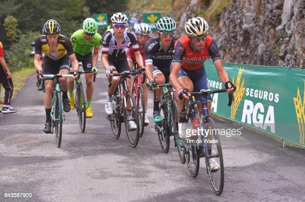 72nd Tour of Spain 2017 / Stage 17 Vincenzo NIBALI / Rafal MAJKA / Wilco KELDERMAN / Steven KRUIJSWIJK / Ilnur ZAKARIN / Michael WOODS / Villadiego...