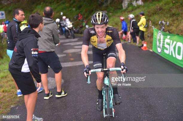 72nd Tour of Spain 2017 / Stage 17 Steven KRUIJSWIJK / Villadiego Los Machucos Monumento Vaca PasiegaAlto de los Machucos 880m / La Vuelta /