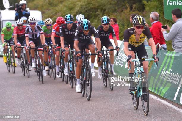 72nd Tour of Spain 2017 / Stage 18 Steven KRUIJSWIJK / Gianni MOSCON / Suances Santo Toribio de Liebana 510m / La Vuelta /