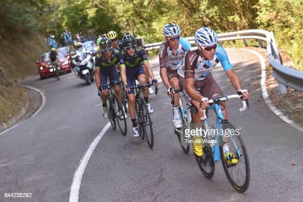 72nd Tour of Spain 2017 / Stage 19 Alexis GOUGEARD / Romain BARDET / Caso Parque Natural de Redes Gijon / La Vuelta /