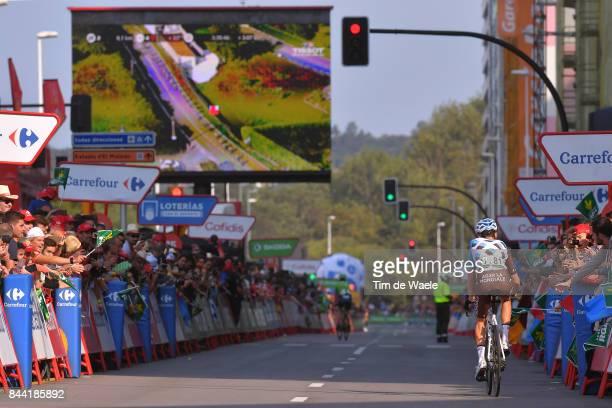 72nd Tour of Spain 2017 / Stage 19 Arrival / Romain BARDET / Caso Parque Natural de Redes Gijon / La Vuelta /