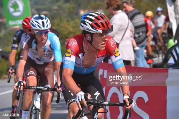 72nd Tour of Spain 2017 / Stage 19 Bob JUNGELS / Romain BARDET / Caso Parque Natural de Redes Gijon / La Vuelta /